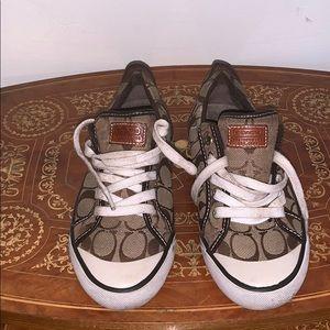 Coach Sneakers w/ signature C